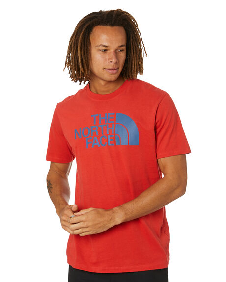 ROCOCCO RED MENS CLOTHING THE NORTH FACE TEES - NF0A4M4PV34