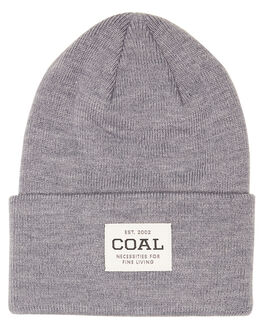 HEATHER GREY MENS ACCESSORIES COAL HEADWEAR - 207206HTGRY