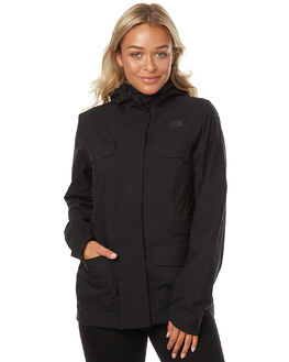 TNF BLACK WOMENS CLOTHING THE NORTH FACE JACKETS - NF0A2VC5JK3