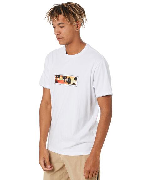 WHITE MENS CLOTHING RIP CURL TEES - CTEQB91000