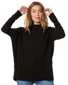 BLACK WOMENS CLOTHING BETTY BASICS KNITS + CARDIGANS - BB767H19BLK