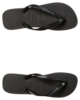 BLACK STEEL GREY WOMENS FOOTWEAR HAVAIANAS THONGS - HSRL0133BSGRY