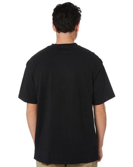 BLACK MENS CLOTHING GLOBE TEES - GB01810048BLK