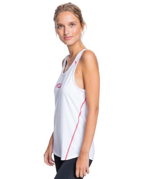 BRIGHT WHITE WOMENS CLOTHING ROXY ACTIVEWEAR - ERJKT03812-WBB0