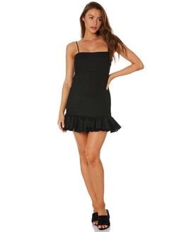 BLACK WOMENS CLOTHING MLM LABEL DRESSES - MLM609BBLACK
