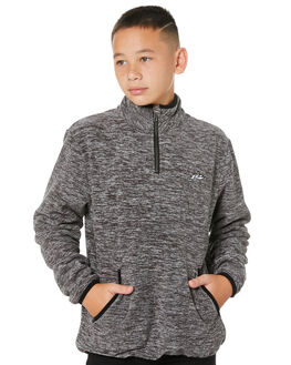 GREY MARLE KIDS BOYS RUSTY JUMPERS + JACKETS - FTB0284GRYML