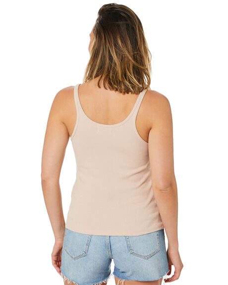 NUDE OUTLET WOMENS LILYA SINGLETS - LS20-T08-CRBNUDE
