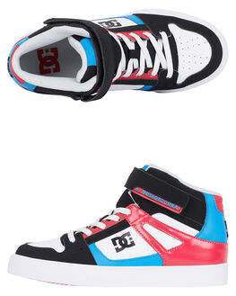 BLACK PINK BLUE KIDS GIRLS DC SHOES SNEAKERS - ADGS300092-LZB