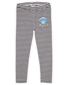 WHITE BLACK KIDS GIRLS RIP CURL PANTS - FPAAQ13014