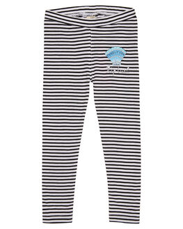 WHITE BLACK KIDS GIRLS RIP CURL PANTS - FPAAQ13014