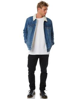 INDIGO MENS CLOTHING LEVI'S JACKETS - 16365-0040