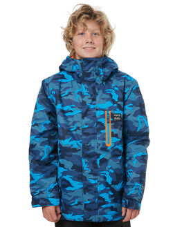 NAVY CAMO SNOW OUTERWEAR BILLABONG JACKETS - F6JB02NVYCA