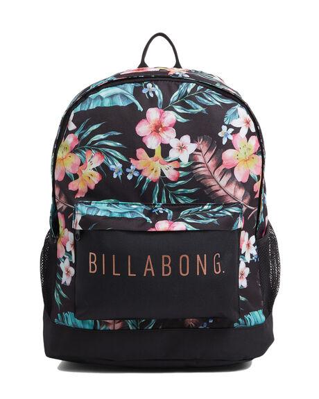 BLACK WOMENS ACCESSORIES BILLABONG BAGS + BACKPACKS - BB-6603002-BLK