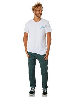 WHITE MENS CLOTHING RUSTY TEES - TTM2124WHT