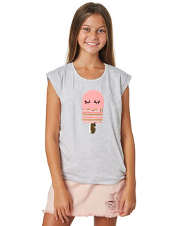 GREY MARLE KIDS GIRLS EVES SISTER TOPS - 9920041GRYMR