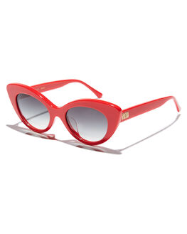 CHERRY RED WOMENS ACCESSORIES CRAP SUNGLASSES - WILDG011GFCRED