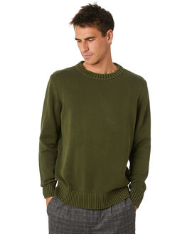 ARMY MENS CLOTHING NEUW KNITS + CARDIGANS - 33696ARMY