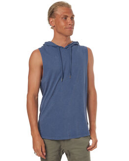 SUMMIT MENS CLOTHING SILENT THEORY SINGLETS - 4085002BLUE