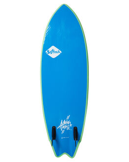 LIME YELLOW BOARDSPORTS SURF SOFTECH SOFTBOARDS - MHTII-LYL-052LMYE