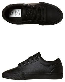 BLACK BLACK KIDS BOYS GLOBE SNEAKERS - GBKGS-10053