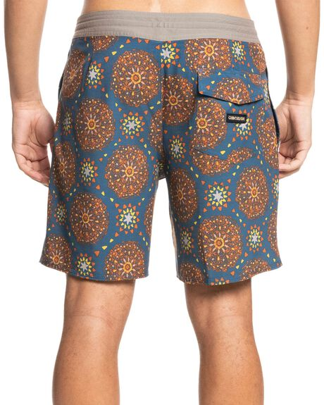 INSIGNA BLUE MENS CLOTHING QUIKSILVER BOARDSHORTS - EQYBS04587-BSN6