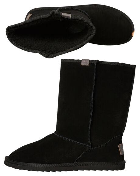 BLACK MENS FOOTWEAR RIP CURL UGG BOOTS - TCCAB20090