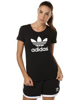 BLACK WOMENS CLOTHING ADIDAS ORIGINALS ACTIVEWEAR - AJ8084BLK