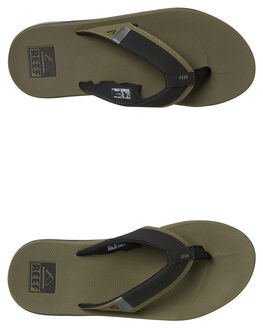 OLIVE MENS FOOTWEAR REEF THONGS - A3KIHOLI