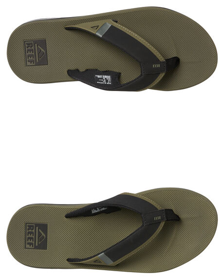 deea1ad7b342 OLIVE MENS FOOTWEAR REEF THONGS - A3KIHOLI