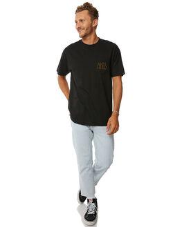 BLACK MENS CLOTHING ANTI HERO TEES - 51020315BBLK