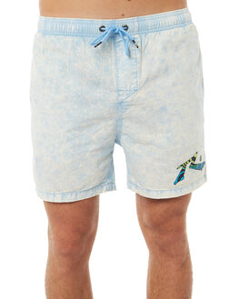 LIGHT BLUE MENS CLOTHING RUSTY BOARDSHORTS - WKM0895LBL