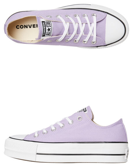 WASHED LILAC WOMENS FOOTWEAR CONVERSE SNEAKERS - 564384CWLLC
