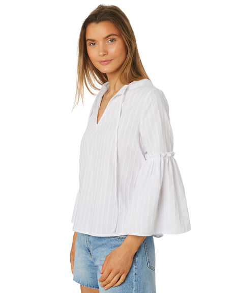 WHITE WOMENS CLOTHING THE FIFTH LABEL FASHION TOPS - 40190121-3WHI