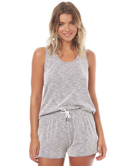 TEXTURED STRIPE WOMENS CLOTHING SWELL SINGLETS - S8171271TXSTP
