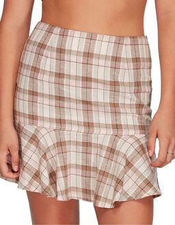 PALE ROSE WOMENS CLOTHING BILLABONG SKIRTS - BB-6595534X-PRO