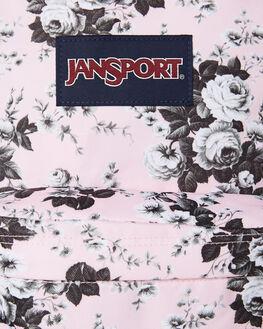 PINK ANTIQUE FLORAL WOMENS ACCESSORIES JANSPORT BAGS + BACKPACKS - JST501JS6N1PAF