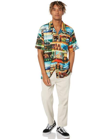 MULTI MENS CLOTHING HUF SHIRTS - BU00123-MULTI