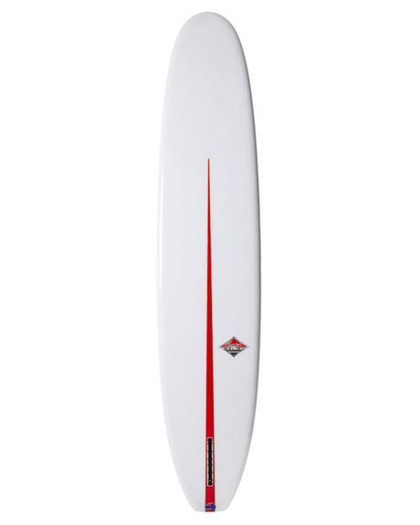 POLISHED CLEAR WITH V COLOUR BOARDSPORTS SURF CLASSIC MALIBU SURFBOARDS - CLAVFLEXCLE