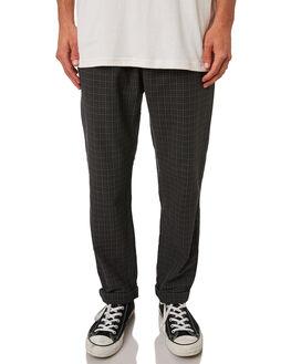 BLACK PLAID MENS CLOTHING INSIGHT PANTS - 5000003349BLKPL