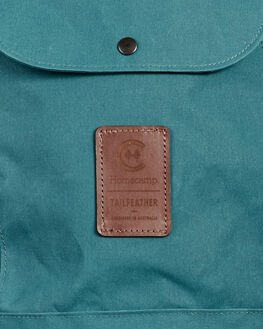 TEAL GREEN MENS ACCESSORIES HOMECAMP BAGS + BACKPACKS - HOM111TEGRN