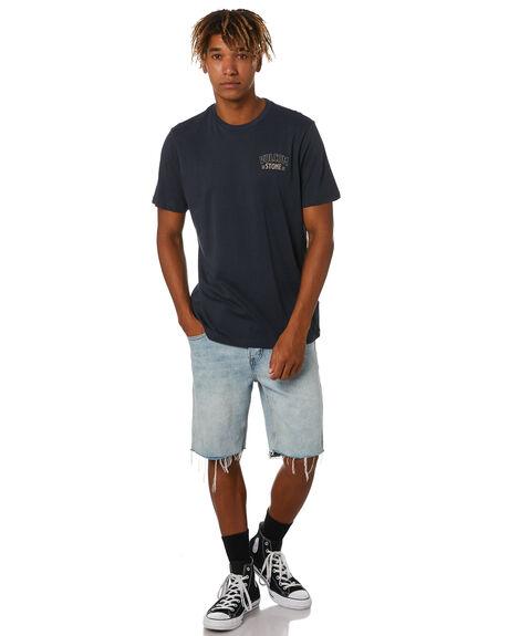 NAVY MENS CLOTHING VOLCOM TEES - A5012020NVY