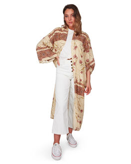 CREAM WOMENS CLOTHING BILLABONG FASHION TOPS - BB-6508094-CRM