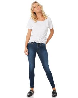 DIM BLUE WOMENS CLOTHING CHEAP MONDAY JEANS - 0355060DIMBL