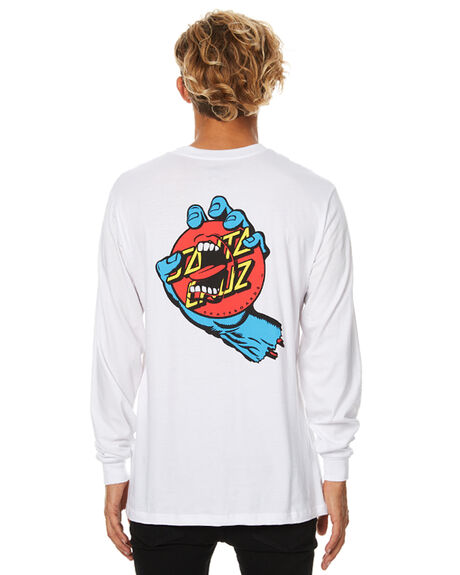 WHITE MENS CLOTHING SANTA CRUZ TEES - SC-MLB7511WHT