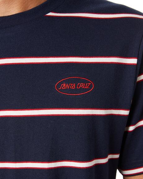 MIDNIGHT MENS CLOTHING SANTA CRUZ TEES - SC-MTD9346MDNT