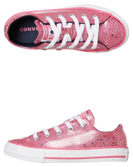 MOD PINK KIDS GIRLS CONVERSE FOOTWEAR - 665108CMPNK