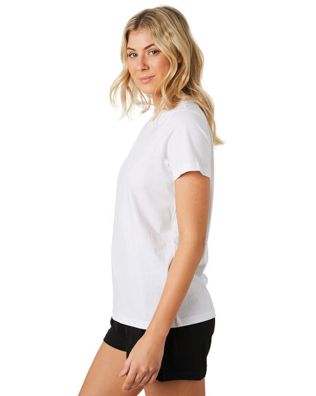 WHITE WOMENS CLOTHING AS COLOUR TEES - 4001WHITE