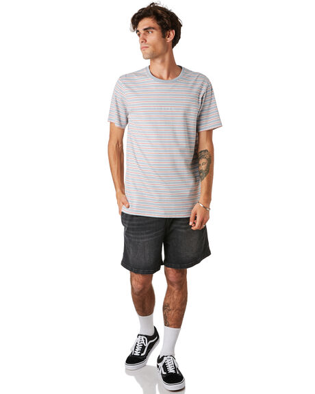 PALE AQUA MENS CLOTHING RUSTY TEES - TTM2295PAA