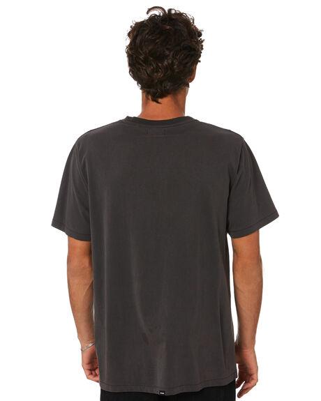 VINTAGE BLACK MENS CLOTHING THRILLS TEES - TA21-120BVVBLK