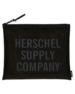 BLACK ACCESSORIES GENERAL ACCESSORIES HERSCHEL SUPPLY CO  - 10163-00605-OSBLK